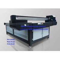 Buy cheap Wide Format Digital Flatbed 3D UV Printer , Glass Printing Equipment product