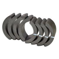 Wholesale Industrial Sintered Ferrite Arc Magnet , Permanent Rare Earth Ferrite Magnet from china suppliers