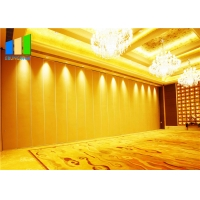 Wholesale Folding Sliding Operable Partition Walls Acoustic Conference Hotel Soundproof Partition Wall Project from china suppliers