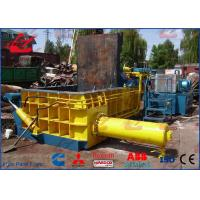 Electrical Control Non Ferrous Metals Hydraulic Scrap Baling Machine Turn Out Model