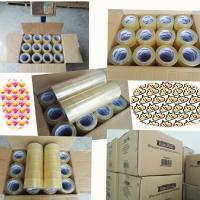 Wholesale China manufacturer BOPP material Rolls Heavy Duty Packing bopp packing tape jumbo roll from china suppliers