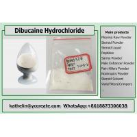 China High Purity Local Anesthetic Dibucaine Hydrochloride CAS 61-12-1 For Pain Killer on sale