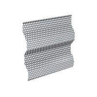 China High Carbon or Low Carbon Steel Plate Corrugated Perforated Metal Plate on sale