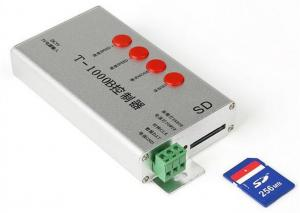 Wholesale T-1000B Sd Card Led Pixel Controller Programmable SPI Signal Output Full Color Dimmer from china suppliers