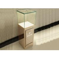 Wholesale Modern Jewelry Glass Display Cabinet With Lights , Retail Jewelry Display Cases from china suppliers