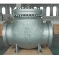 Wholesale Carbon Steel BW WCB Swing Check Valve Hardfaced With 13 CR RF , Precision Machined Castings from china suppliers