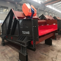 Wholesale High Utilization Rate Vibrating Screening Machine For Mineral Processing from china suppliers