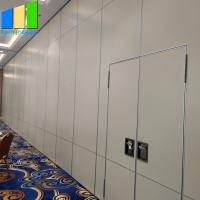 Wholesale Aluminium Folding Door Retractable Acoustic Room Dividers Folding Portable Partition Wall For Hotel from china suppliers