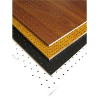Wholesale MDF Perforated Wood Acoustic Panels Auditorium Sound Insulation Wooden Board from china suppliers