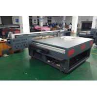 Wholesale Glass Flatbed Uv Printer , Inkjet Flatbed Printing Machine Stable Operation from china suppliers