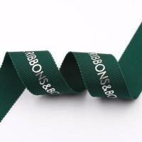 Wholesale Single Side Soild Color Ersonalised Grosgrain Ribbon Custom Gift Wrapping from china suppliers