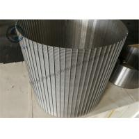 Wholesale SS 316L Wedge Wire Sieve Filters / Rotating Drum Screen 520 Mm Dia from china suppliers