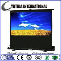 Wholesale Cynthia Screen 60 inch 4:3 3D Portable Pull Up Projection Screen Air Pressure Type Screen from china suppliers