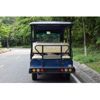 Wholesale Mini Electric Golf Carts 14 Passengers Electric Sightseeing Car Blue Color from china suppliers