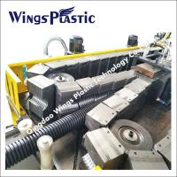 Wholesale PVC Double Wall Corrugated Pipe Extrusion Machine, PVC Corrugated Pipe Extrusion Line from china suppliers