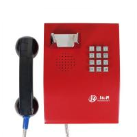 Wholesale Metal Enclosure Public Safety Vandal Resistant Handset Telephone with Keypad from china suppliers