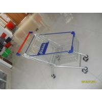 Buy cheap Anti UV Plastic Parts Vegetable Shopping Trolley For Supermarket , Easy Push from wholesalers