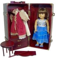 China DOLL TRUNK WITH VANITY FIT AMERICAN GIRL on sale