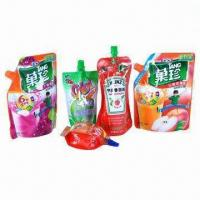 Wholesale Spout Liquid Pouch with Laminated Material, Customized Sizes are Welcome from china suppliers