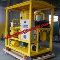China Double Stage Vacuum Oil Purifier Machine, Transformer Oil Dual Distillation System on sale