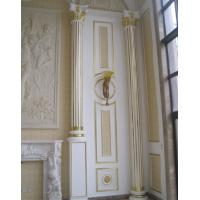Pu interior decorative roman column with hand painted for Interior columns for sale