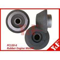 Wholesale Komatsu PC120-6 Excavator Parts 6D34 Rubber Engine Mounts Excavator Components from china suppliers