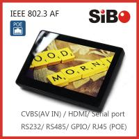 advertising player wifi/3G 7 inch Android tablets with auto run app for inwall mounting for sale