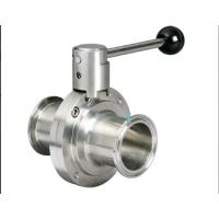 Wholesale Stainless Steel Hygienic Butterfly Valve from china suppliers