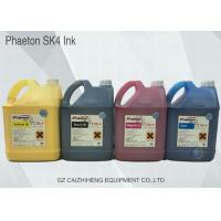 Wholesale Seiko Odorless Solvent Printing Ink 5 Liter For SPT 510 / 1020 Phaeton SK4 from china suppliers