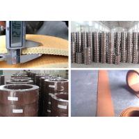 Quality Brown Brake Lining Pad Friction Material For Winch Windlass Sugar Mill for sale