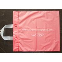 Buy cheap Pink Side Gusset Plastic Hanger Bags Large Size For Gift / Grocery Shopping from wholesalers