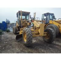 China Original Color Cat Road Grader 140H , Old Caterpillar Graders CAT 3306 Engine 185hp on sale