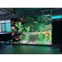 China High Brightness indoor P3 Led Video Display Panel Ironed Steel Cabinet Tv Wall Screen on sale