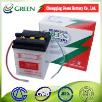 China 6N4-2A China Chongqing Green 6v 4ah rechargeable lead acid battery,6v motorcycle battery on sale