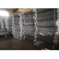 China 6FT Chain Link Fence Fabric , Diamond Mesh Fencing Low Carbon Iron Wire on sale
