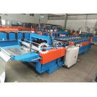 China Portable KR-18 Standing Seam Roofing Snap Lock Forming Machine For Sheet on sale