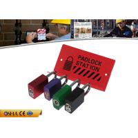 Wholesale Durable Steel Material 282g Red Lockout Station Hold 10 Pieces Padlocks from china suppliers