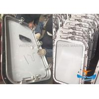 China Side Scuttle Marine Watertight Doors A0 Class Fire Protection For Oil Tanker on sale