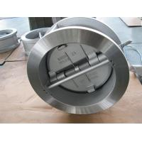 Wholesale Flanged Dual Plate Wafer Check Valve , Full Port Wafer Lug Type Check Valve from china suppliers