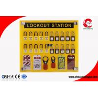 Wholesale 20 safety padlocks lockout station lockout Lock Hanging Board With tagout management station from china suppliers