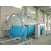 Automatic Laminated Glass Autoclave for Rubber Industrial , High Efficiency Manufactures