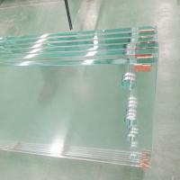 Wholesale Low iron Tempered glass with polished edge from china suppliers