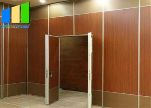 Wholesale Customized Aluminum Melamine Folding Removable Partition Walls For Hotel from china suppliers