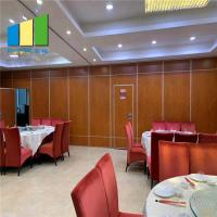 Wholesale Sliding Folding Temporary Acoustic Partition Walls Mobile Soundproof Room Partition from china suppliers