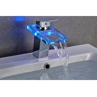 Wholesale Contemporary 3 Color Change Bathroom Basin Faucets For Hotel Use , CE Certified from china suppliers