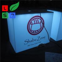 Wholesale Outdoor Using Cube Light Box Sign Front Store Hanging 3D Led Aluminum from china suppliers
