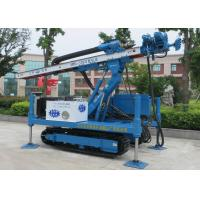 Buy cheap ISO9001 Dth Hammer Anchor Drilling Rig Foundation Piling Machine MDL-135H product