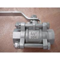 Wholesale Smooth opening and closing 3PC Ball valve from china suppliers