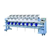 China 4 6 8 Head Small Computer Embroidery Machine High Speed For Flat Cap T Shirt on sale