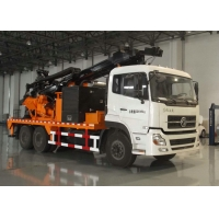 Buy cheap 10000NM Hydraulic 600m Truck Mounted Drill Rig from wholesalers